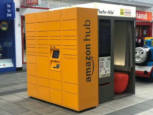 Amazon Lockers arrive at The Foundry!